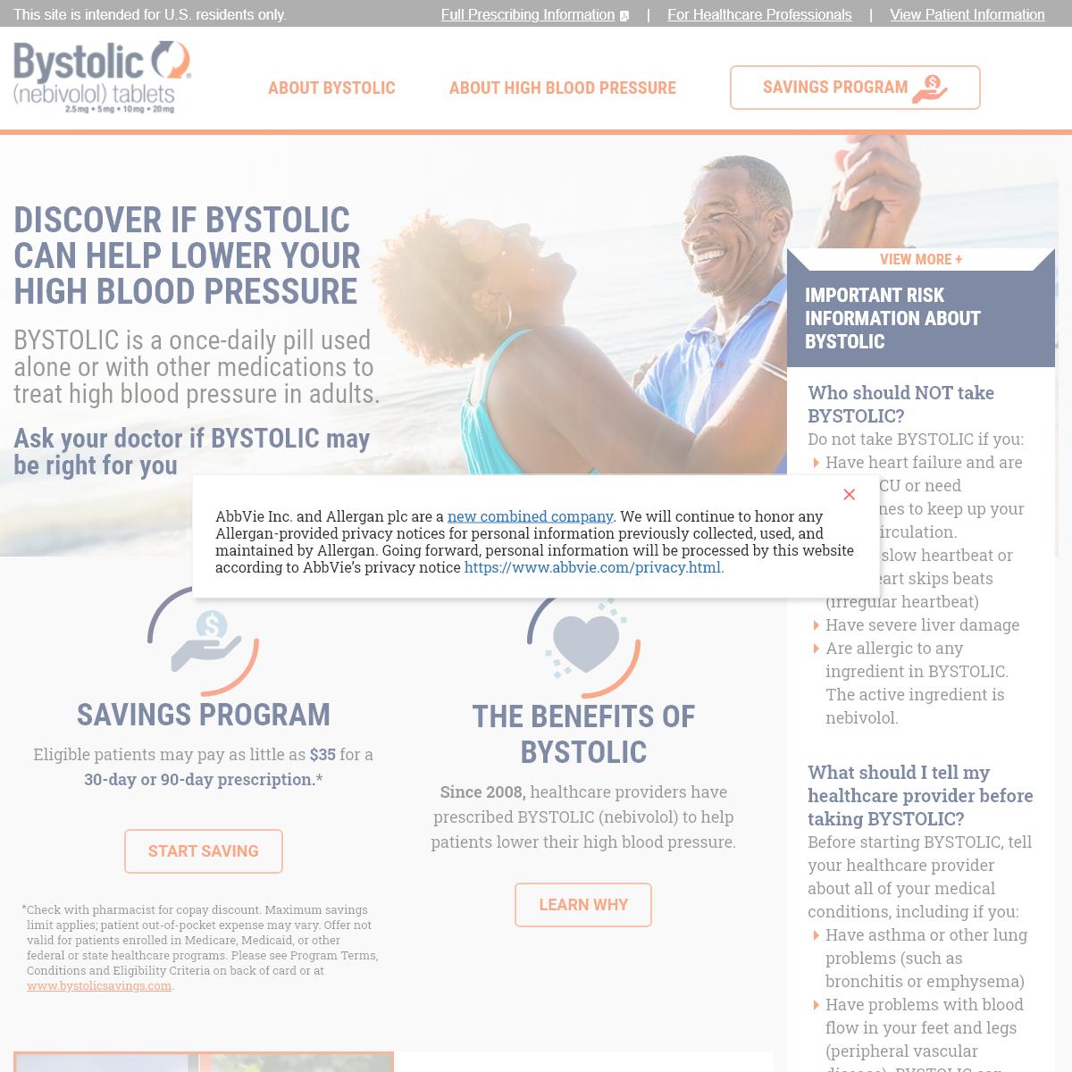 High Blood Pressure Treatment - BYSTOLIC® (nebivolol)