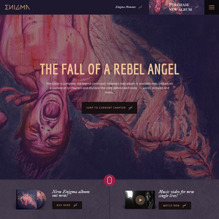 The Fall Of A Rebel Angel - Enigma - Official Website