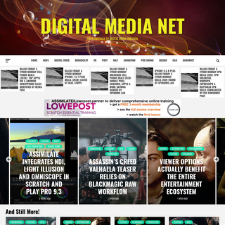 Digital Media Net – Your Gateway To Digital Media Creation