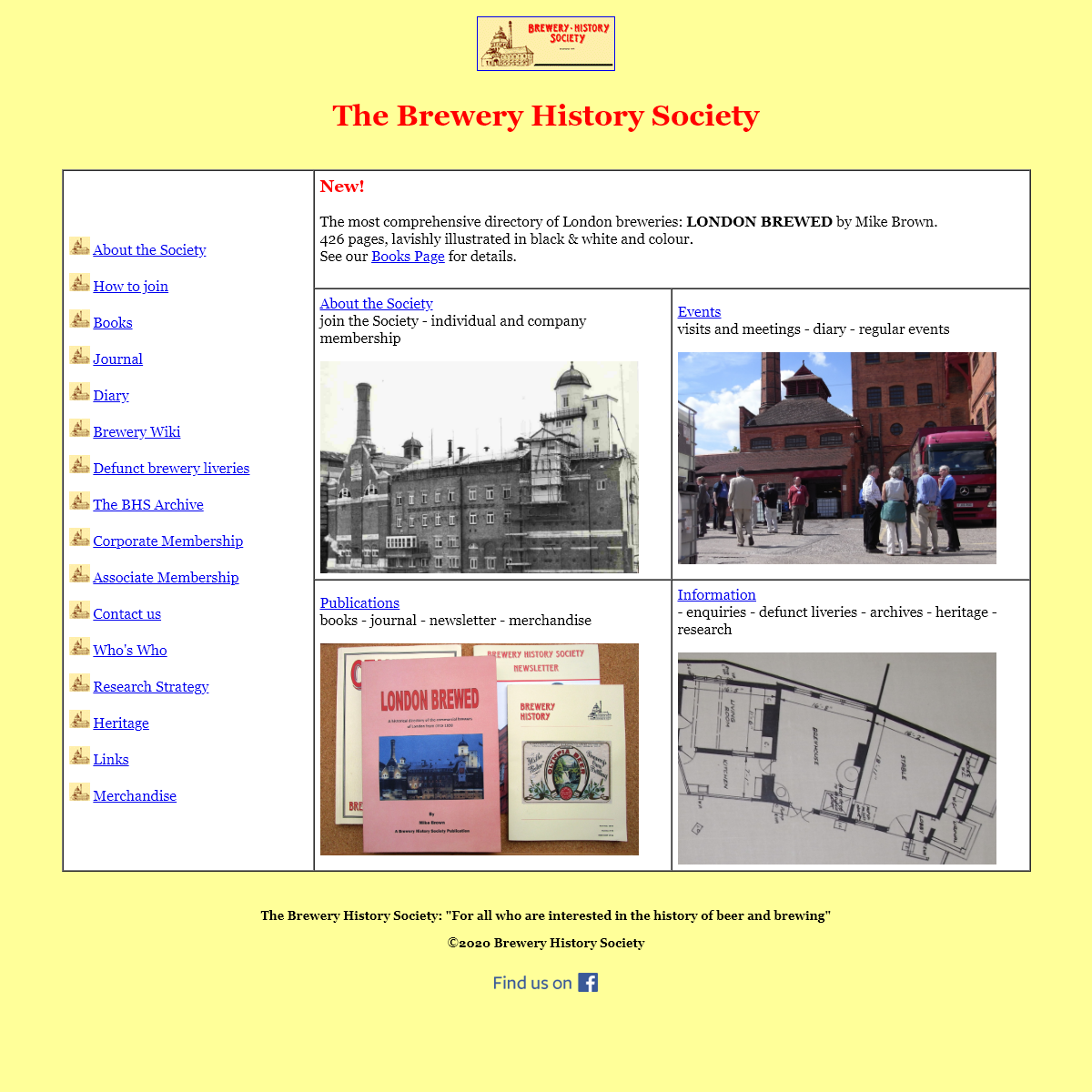 Brewery History Society- The Society for all who are interested in the history of beer and brewing