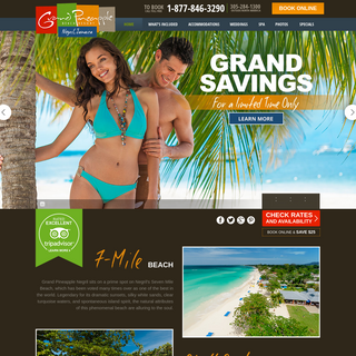 Caribbean Vacations - Grand Pineapple Beach Resort