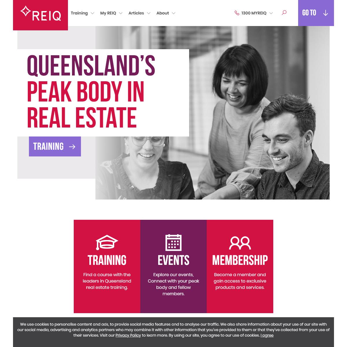 REIQ - Real Estate Institute of Queensland