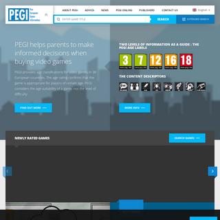 Home - Pegi Public Site