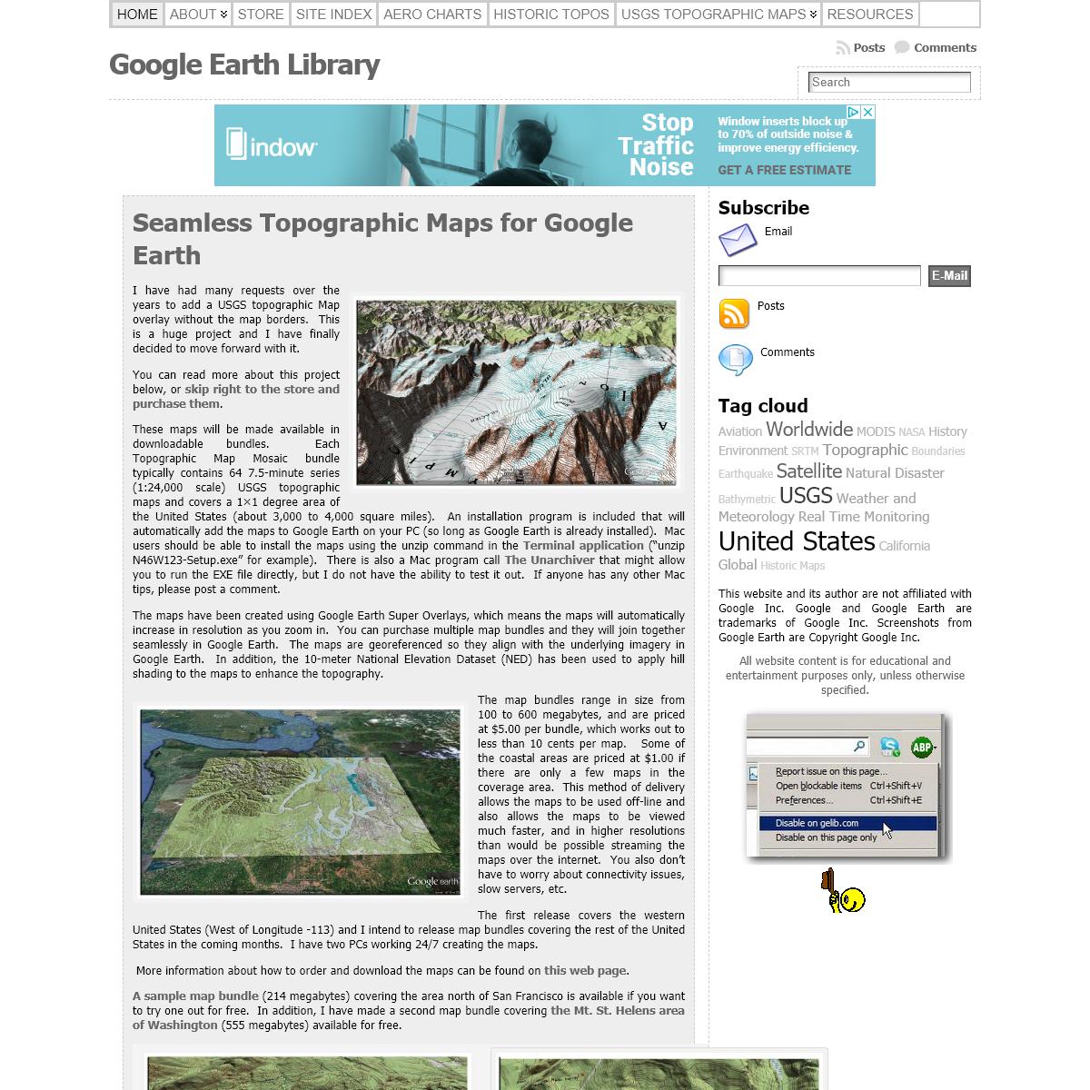 Google Earth Library