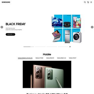 Samsung Brasil - Smartphones & Tablets - TV & Áudio - Eletrodomésticos - Outros