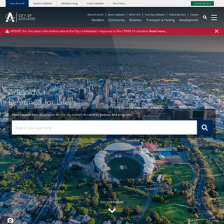 City of Adelaide - Capital City of South Australia - City of Adelaide