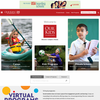 Private schools, Boarding school & Summer Camps - OurKids.net
