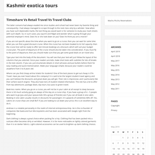 Kashmir exotica tours – Travel agency in Kashmir