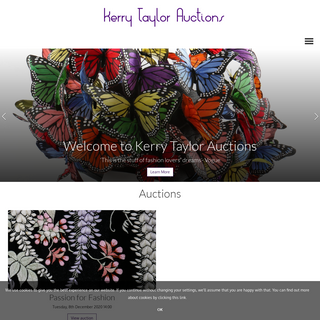 Home page - Kerry Taylor Auctions