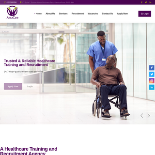 AnsaCare – A Healthcare Training and Recruitment Agency in Crawley, West Sussex