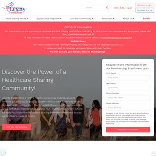Home Page - Liberty HealthShare