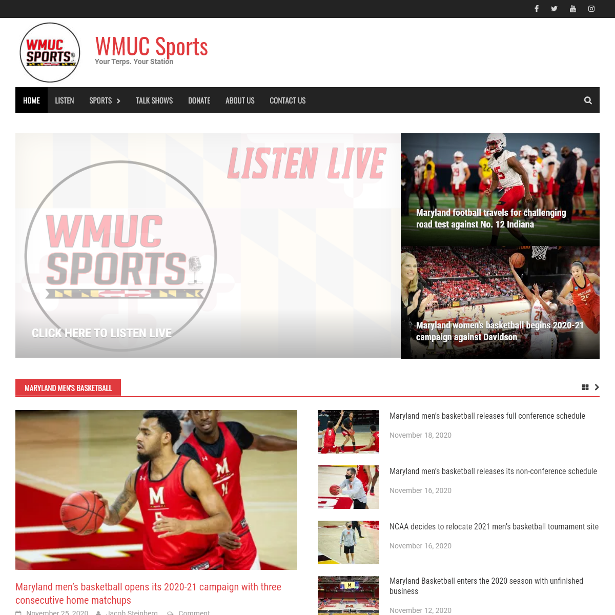 WMUC Sports- Your Terps Your Station