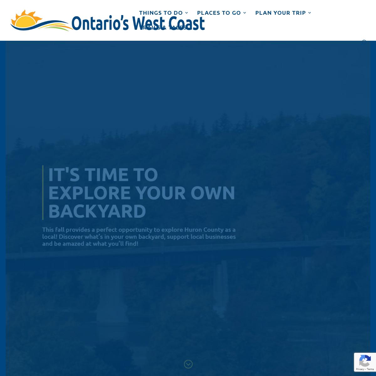 Home - Ontario`s West Coast