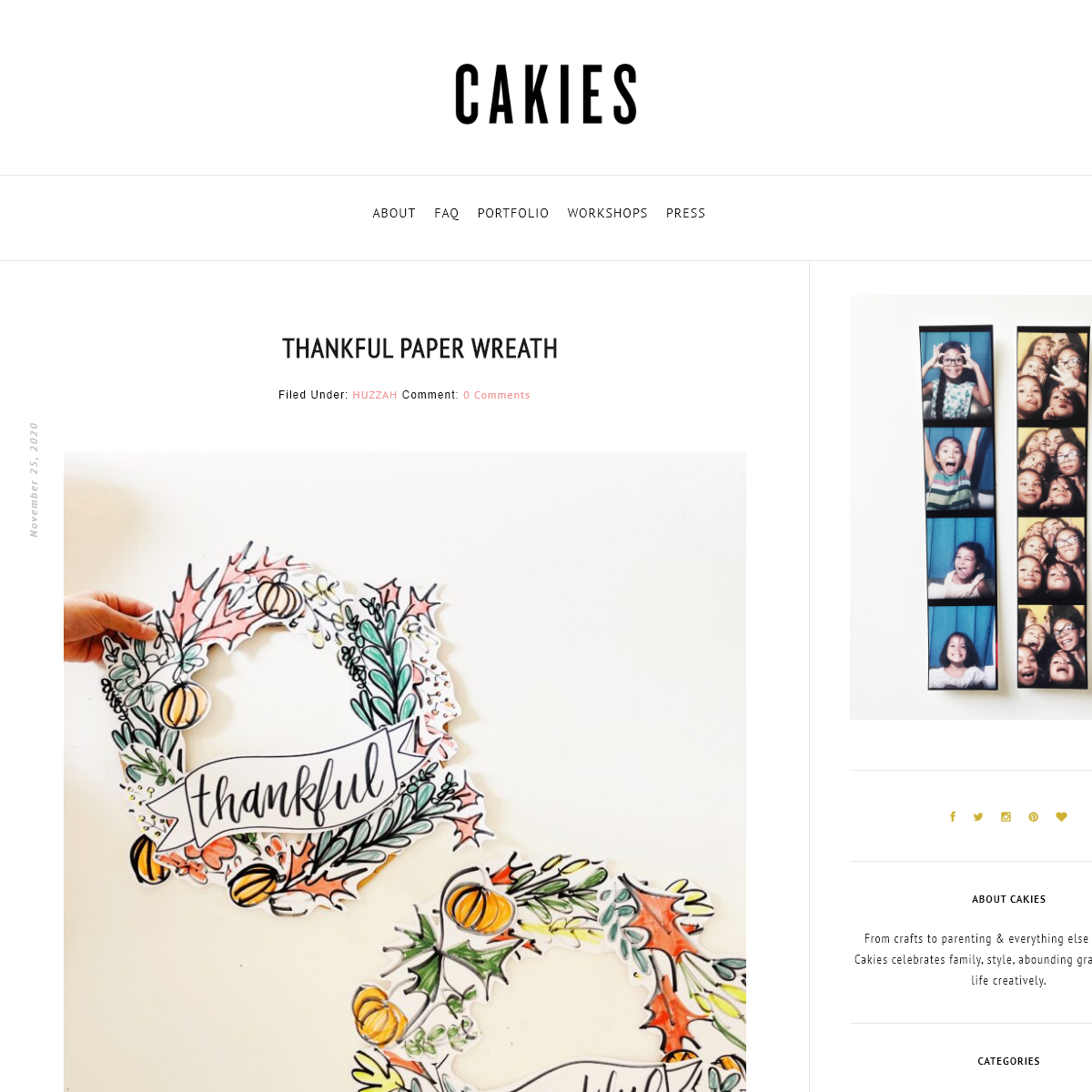 CAKIES - crafts to parenting & everything else in between