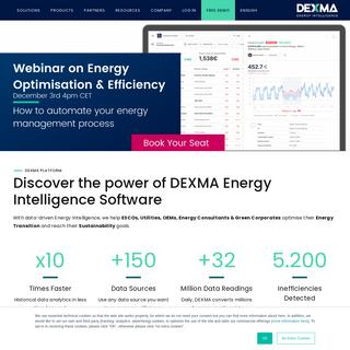 DEXMA - Energy Intelligence and Management