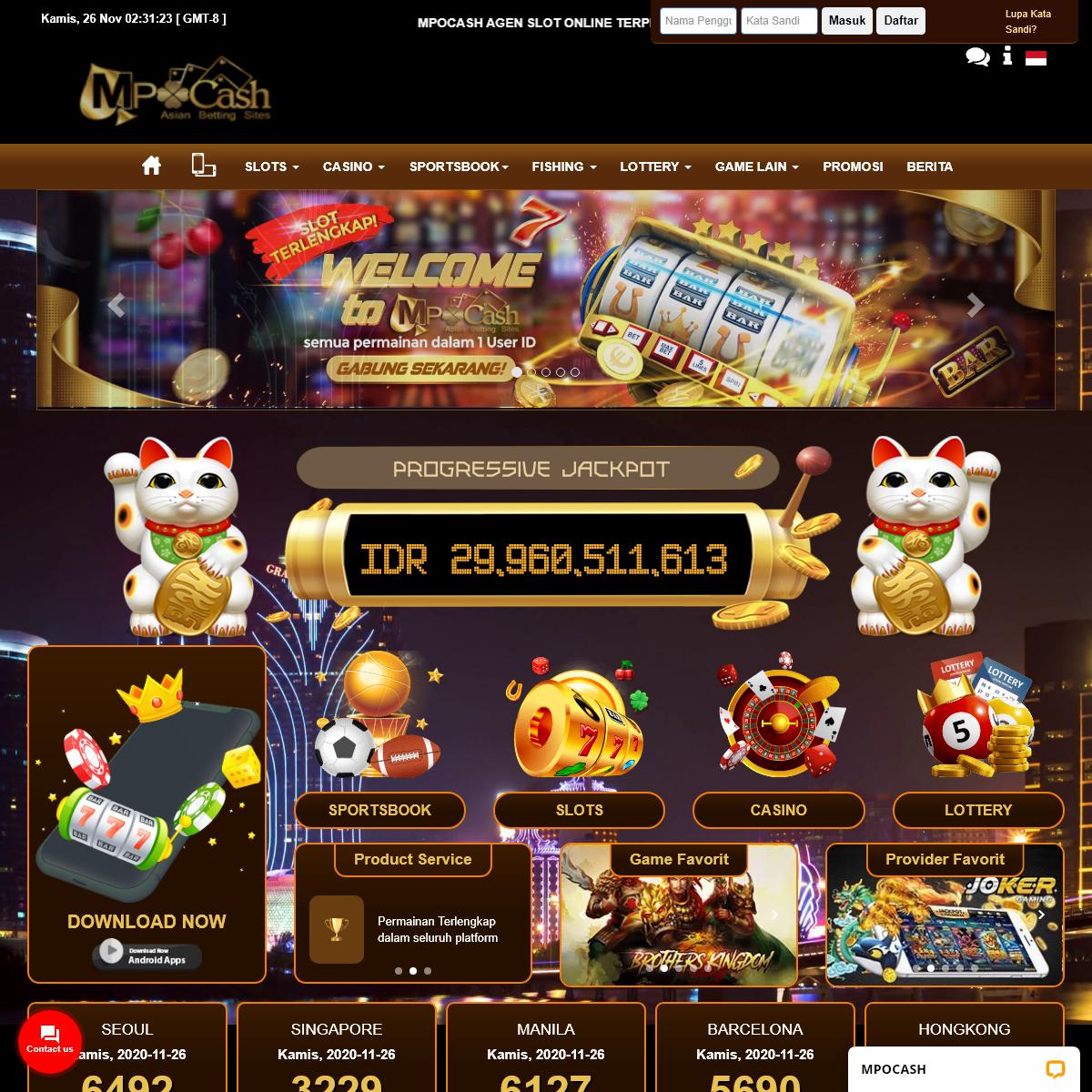 Situs slot online - Agen Slot Online - Judi Online - Mpocash