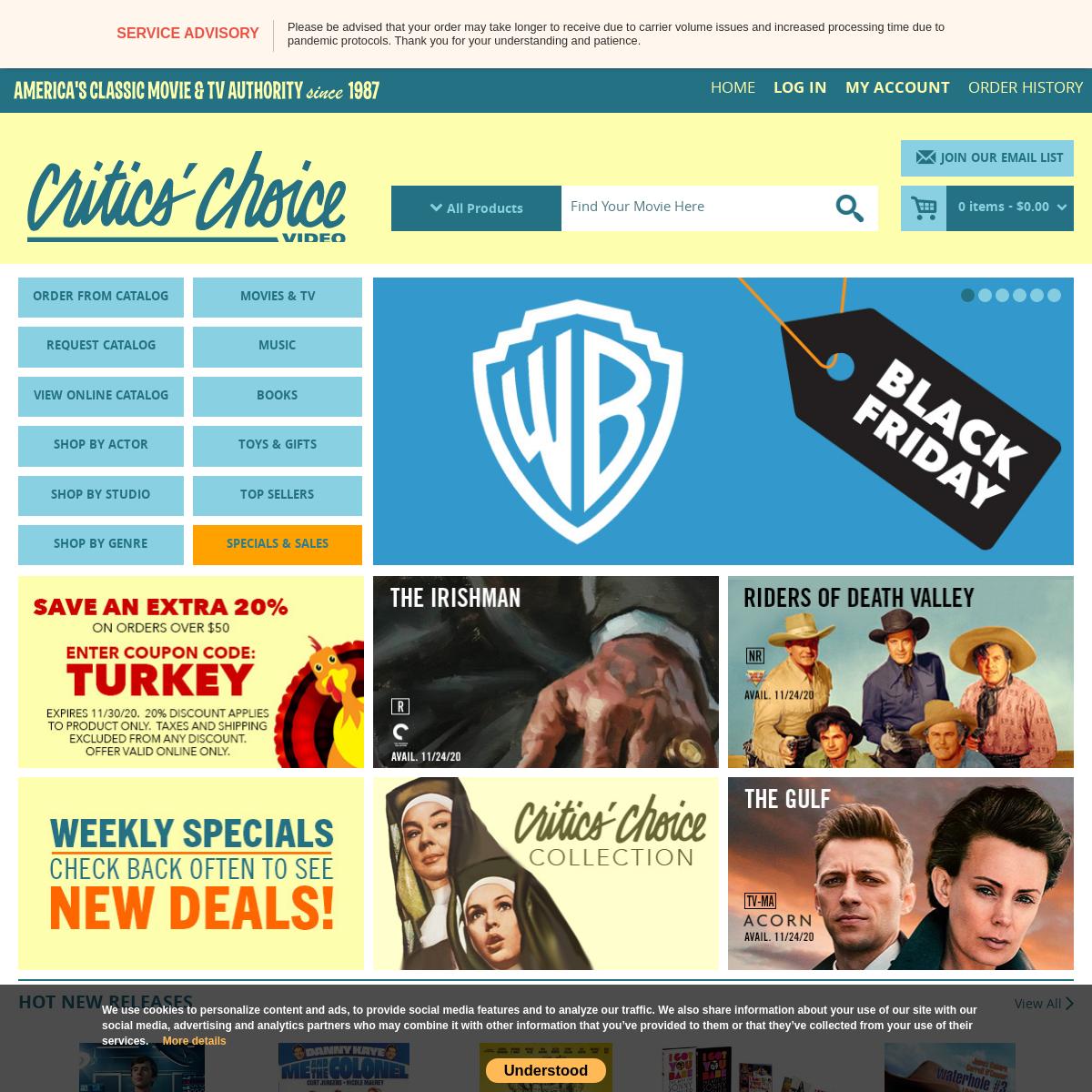 CCVideo.com- Classic DVD & Blu-ray
