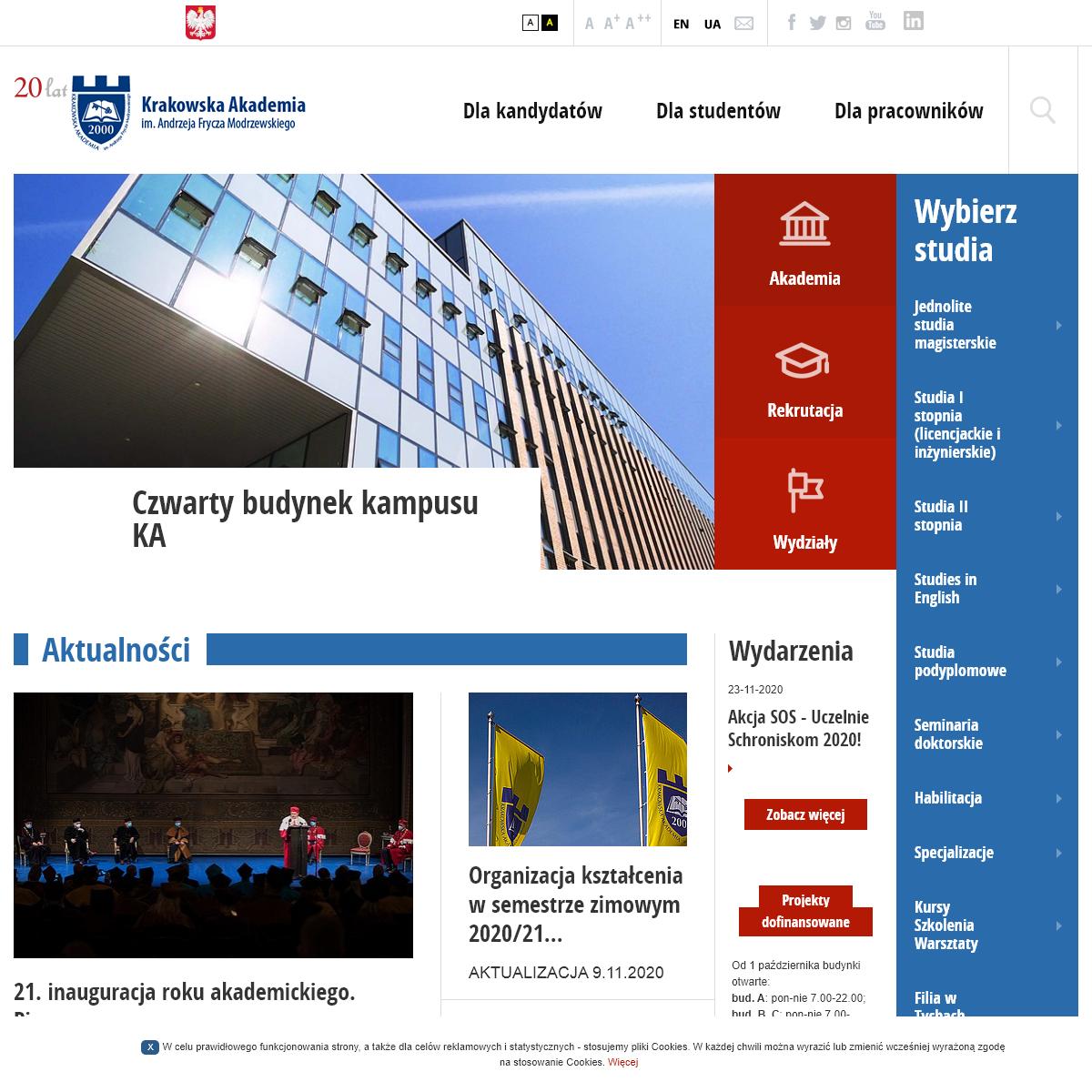 Krakowska Akademia im Andrzeja Frycza Modrzewskiego