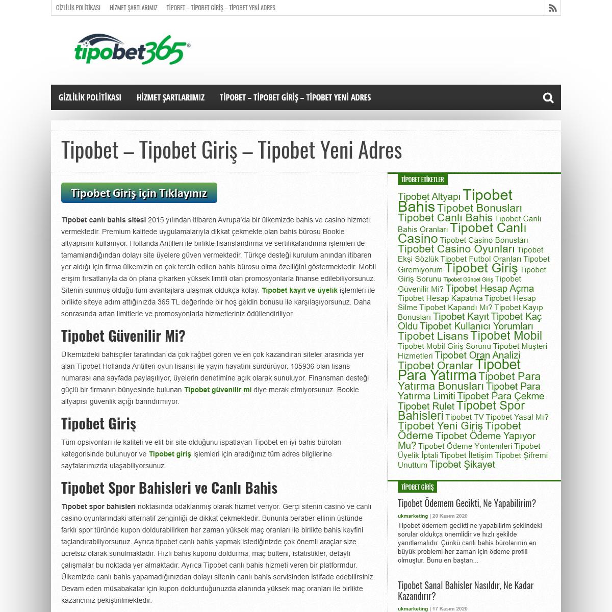 Tipobet - Tipobet Giriş - Tipobet Yeni Adres