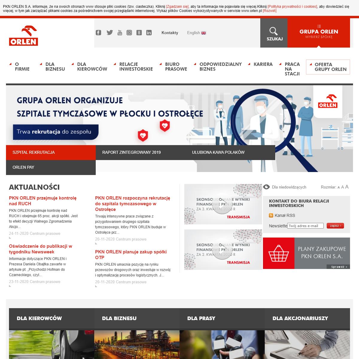 Strona główna - PKN ORLEN