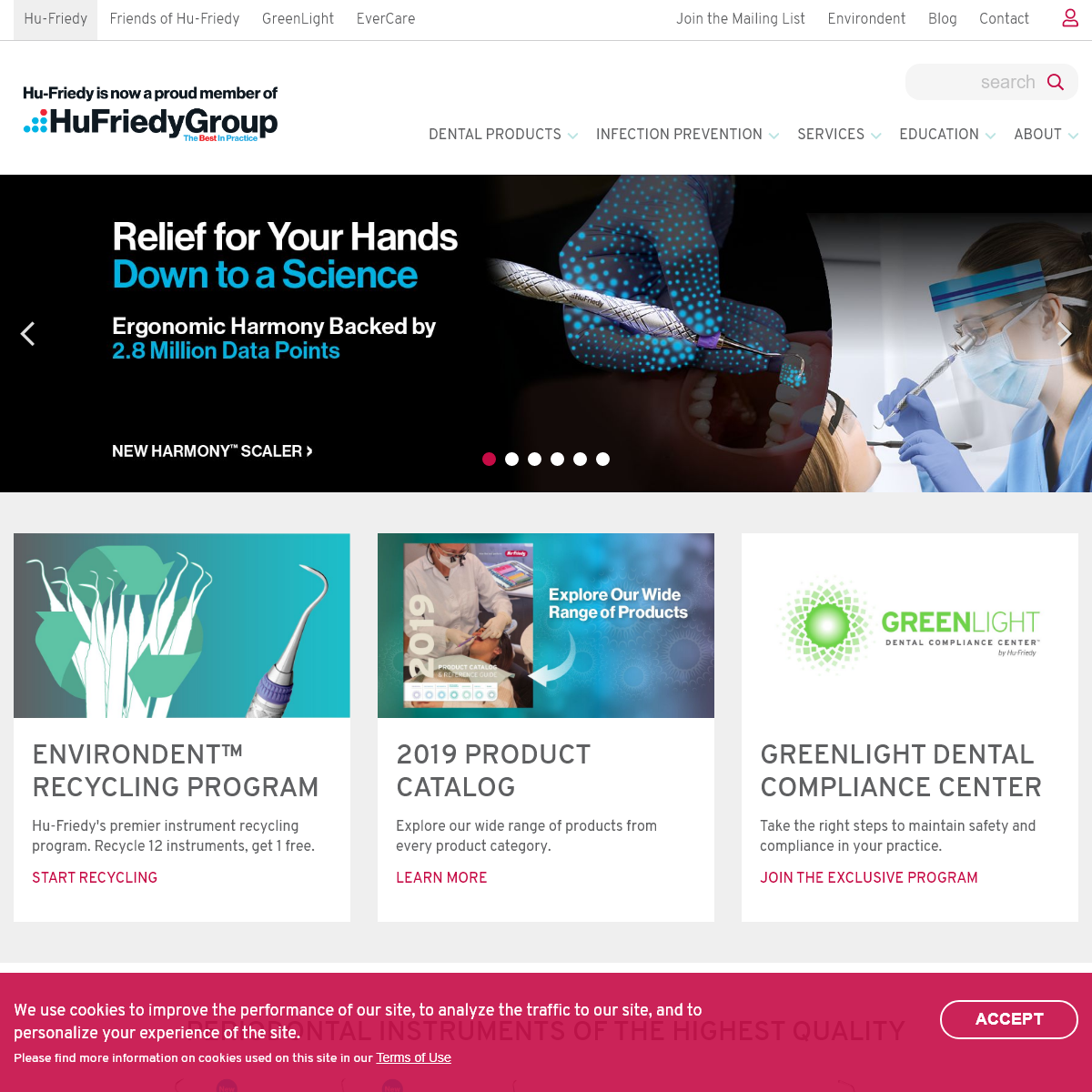 HuFriedyGroup - The Best in Practice