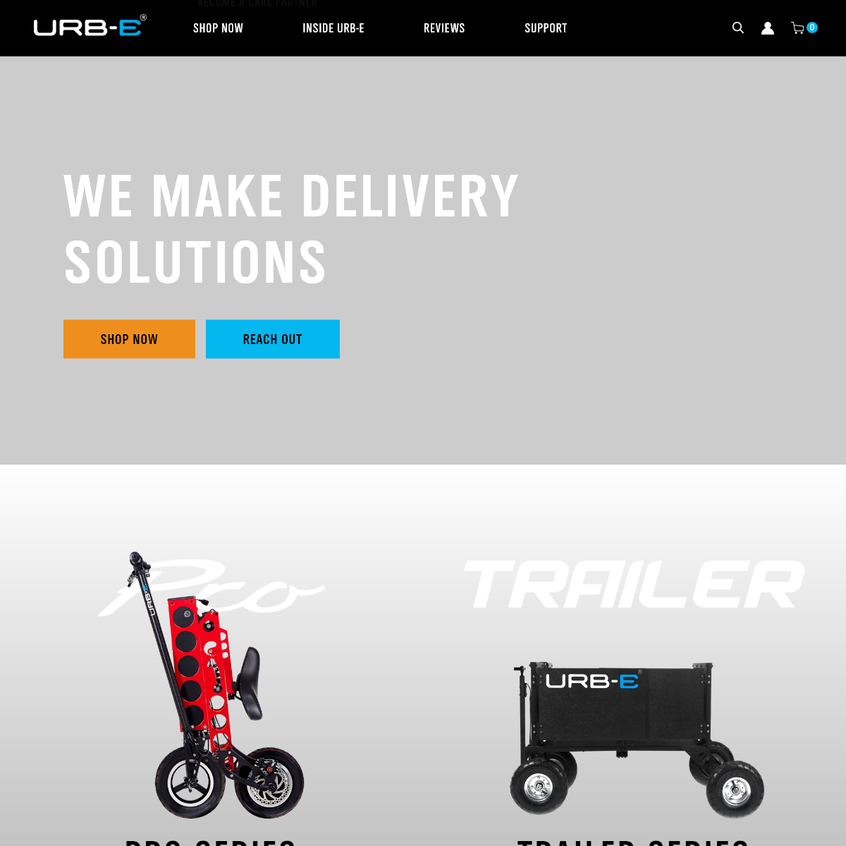 URB-E Foldable Electric Vehicles and Accessories