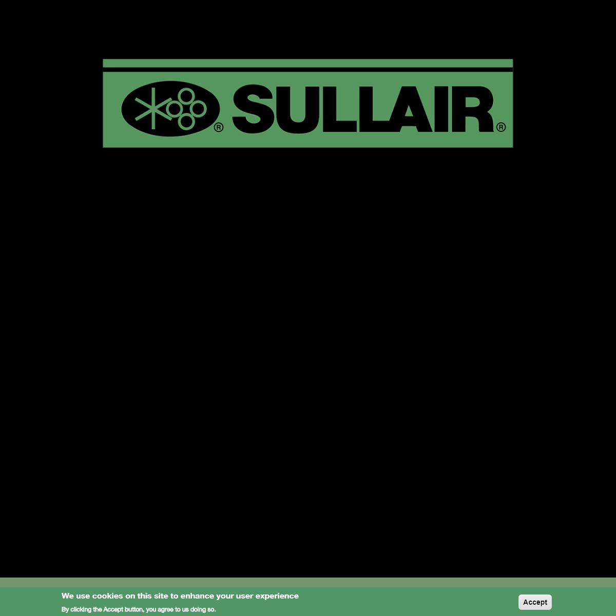 Sullair Industrial & Portable Air Compressors