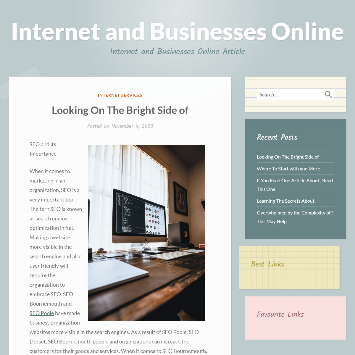 Internet and Businesses Online – Internet and Businesses Online Article