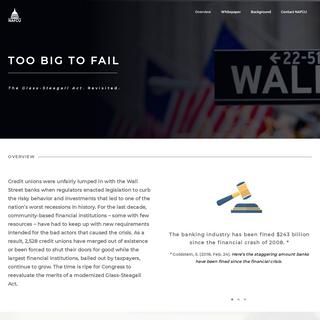 - Too Big To Fail