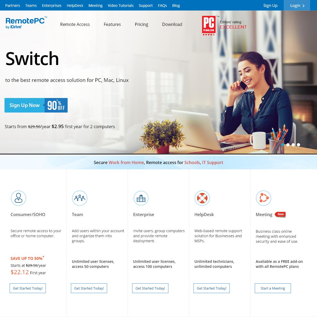 Remote Access and Remote Desktop - RemotePC®