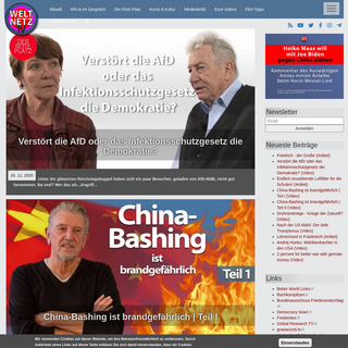 Weltnetz.tv - Plattform für linken und unabhängigen Videojournalismus