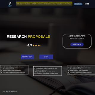 Home - Research Proposals