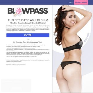 Blowpass- Blowjob Porn Network & Deepthroat Movies