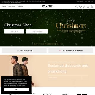 Psyche - Designer Clothing for Men, Women & Children