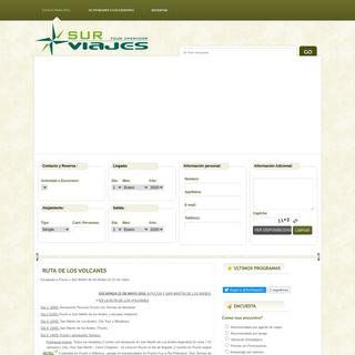 SurViajes.cl - Reserve sus Vacaciones en Destinos Increíbles