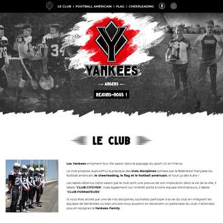 Football américain, flag et cheerleading-Yankees SCO Angers