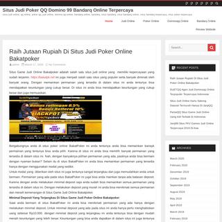 Situs Judi Poker QQ Domino 99 Bandarq Online Terpercaya - situs judi online, qq online, poker qq, judi online, domino qq online,