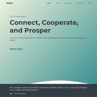 Connect, Cooperate, and Prosper