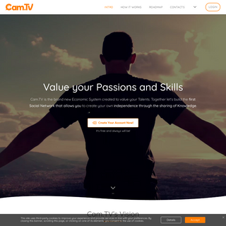 Cam.TV - Value your Passions!