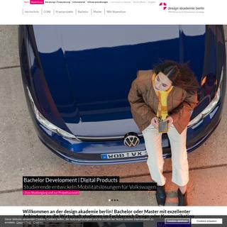 SRH Hochschule für Kommunikation und Design Berlin - design akademie berlin
