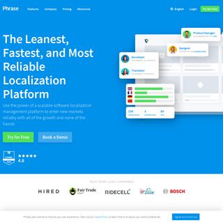 Phrase (formerly PhraseApp) – Translation Management Platform
