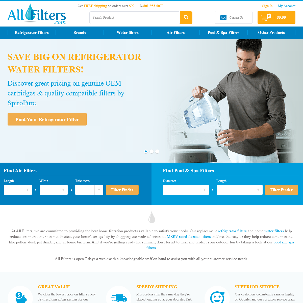 All Filters - Serving ALL Your Filtration Needs