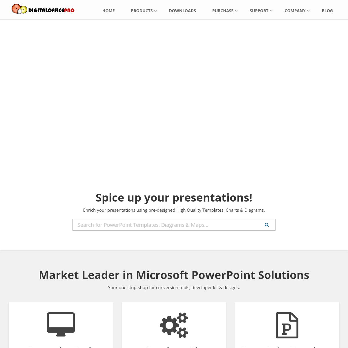 DigitalOfficePro - Conversion Tools, Developer Kit, Powerpoint Templates, eLearning Tools