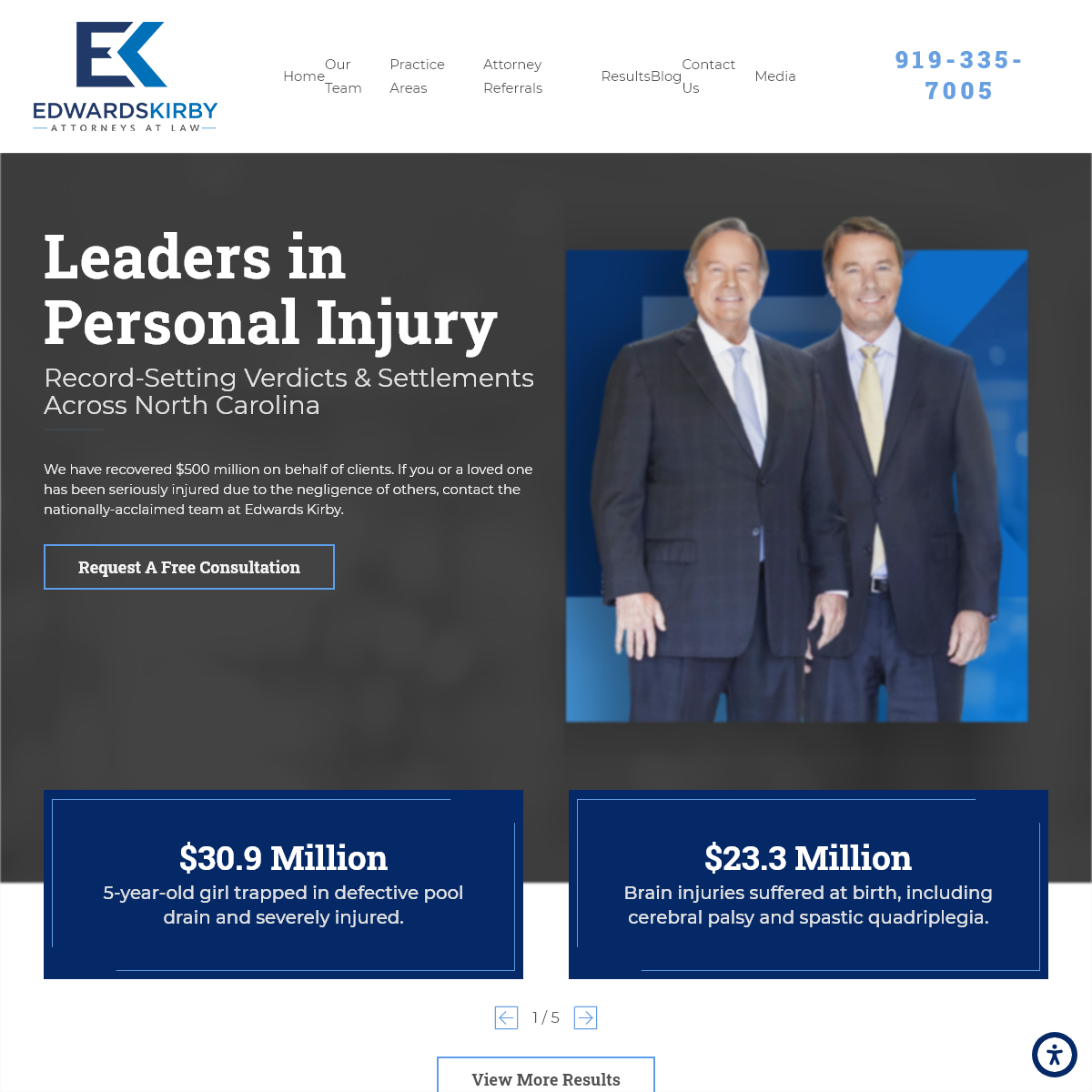 Raleigh Personal Injury Attorneys - Edwards Kirby, LLP