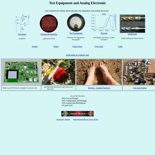 Test Equipment, Electronic