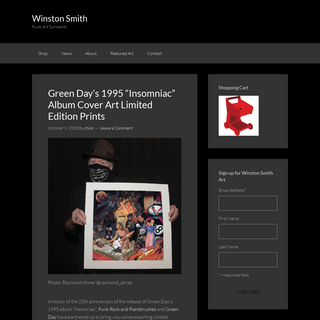 Winston Smith News - FOR IMMEDIATE RELEASE