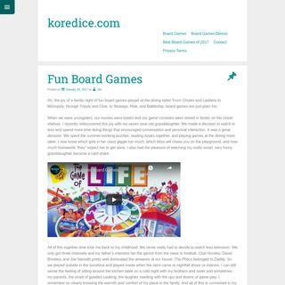 koredice.com -