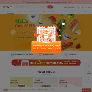 Yamibuy.com - Asian Grocery Delivery to Your Doorstep