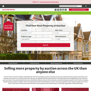 Auction House Property Auctions UK