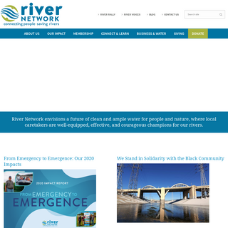 River Network - Connecting People, Saving Rivers